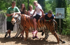 Learning about zoology at the zoo!