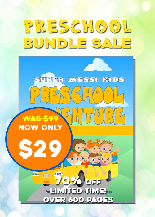 Preschool Bundle Sale (over 600 pages)